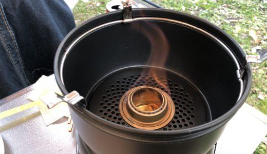 【トランギア 】ストームクッカーの使用感レビュー!!風防効果抜群でめちゃ料理がはかどるよ。