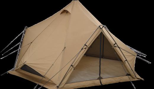 ゼインアーツから大型テントやシェルターは出るの?問い合わせてみた。