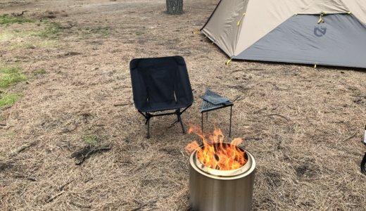 実はテントやタープにも優しい?solostoveのRangerで焚き火しても全然火の粉が飛ばない説