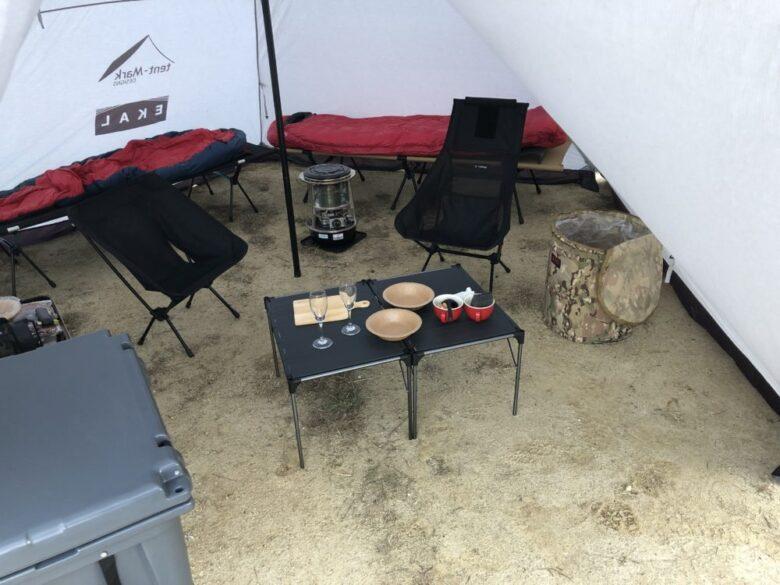 テント内画像