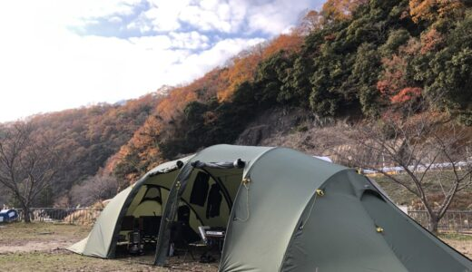 【快適】2ルームテントを年中インナーテントなしで使う理由。デメリットとその対策も。