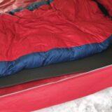 地面の凸凹が痛くない寝袋と、マット選びは大切って話